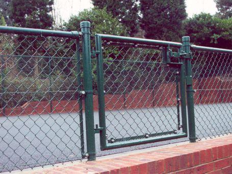 Trevor May Contractors | Tennis Court Fencing